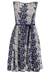 Studio 8 Carlotta Cocktail Dress Party Dress Navy White Dark Blue
