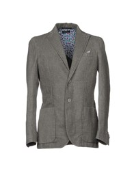 Piero Guidi Blazers Grey