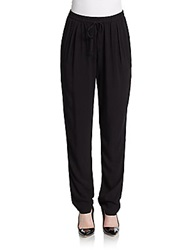 Candc California Tapered Drawstring Track Pants Black