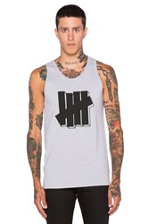 Undefeated Strike Block Tank Gray