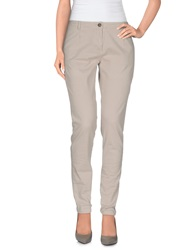 Etiqueta Negra Casual Pants Light Grey