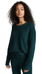 Stateside Sherpa Terry Sweatshirt Deep Green