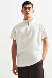 Native Youth Waves Summer Zip Tee Cream