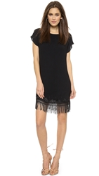Twelfth St. By Cynthia Vincent Fringe Shift Dress