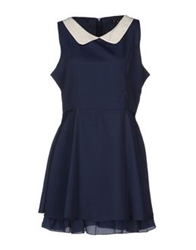 Cutie Short Dresses Dark Blue