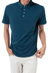 7 Diamonds Men's 'Ultimate' Polo Teal