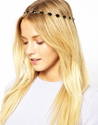 Asos Jewel Headband Black