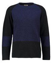 Nudie Jeans Vladimir Jumper Black Blue