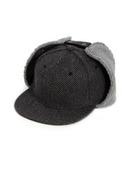 Gents Kurt Shearling Lined Winter Hat Grey