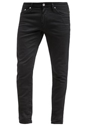 Meltin Pot Slim Fit Jeans Black Black Denim