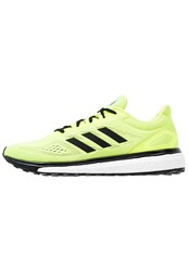 Adidas Performance Response Lt Neutral Running Shoes Solar Yellow Core Black White Neon Yellow