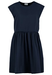 Noisy May Nmcole Summer Dress Navy Blazer Dark Blue