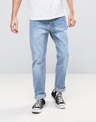 Dr. Denim Dr Ed Straight Jeans In Light Retro Wash Blue