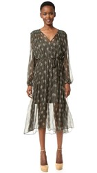 Zimmermann Karmic Stamp Smock Dress Stamp Floral