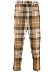 Vivienne Westwood George Checked Cropped Trousers 60