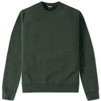 Aspesi Garment Dyed Crew Sweat Green