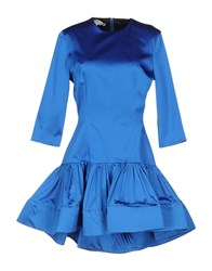 Leitmotiv Short Dresses Blue