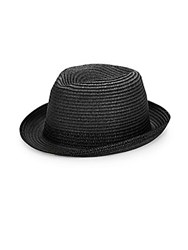 Block Headwear Straw Fedora Natural