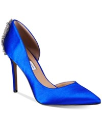 Inc International Concepts Women's Kesya Embellished D'orsay Pumps Only At Macy's Women's Shoes Dazzling Blue
