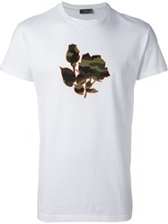 Christian Dior Dior Homme Applique T Shirt White