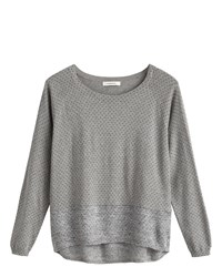 Sandwich Polka Dot Jumper Grey