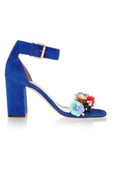 J.Crew Collection Embellished Suede Sandals