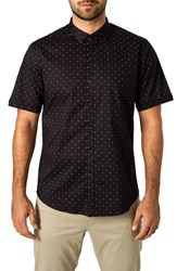 7 Diamonds Casual Fiasco Trim Fit Sport Shirt Black