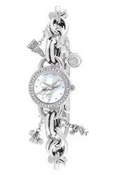 Game Time 'College University Of South Florida' Charm Bracelet Watch 23Mm