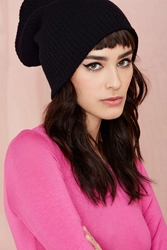 Nasty Gal Hot Headed Beanie Black