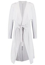 Object Objannlee Classic Coat Highrise Light Grey