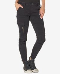 Silver Jeans Co. Cargo Black Wash Skinny