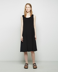 Margaret Howell Side Pleat Tunic Black