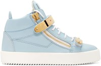 Giuseppe Zanotti Ssense Exclusive Blue London High Top Sneakers