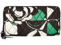 Vera Bradley Rfid Georgia Wallet Imperial Rose Wallet Multi
