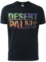 Dsquared2 Desert Palms T Shirt Black