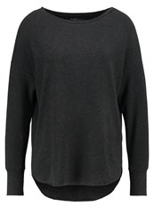 Majestic Sweatshirt Anthracite Chine Mottled Anthracite