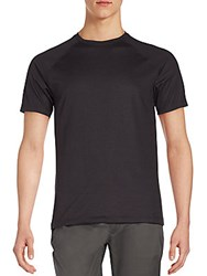Vince Camuto Short Sleeve Crewneck Tee Charcoal