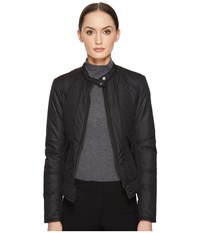 Belstaff Tyneham 2.0 Lightweight Technical Quilt Jacket Black Women's Coat