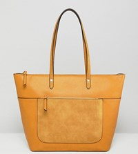Accessorize Accesorize Emily Distressed Yellow Tote 98 Yellow