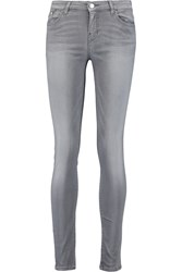 Karl Lagerfeld Kate Low Rise Skinny Jeans Gray