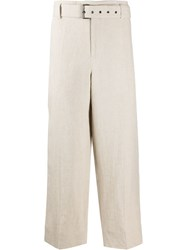 J.W.Anderson Jw Anderson Belted Cropped Trousers 60