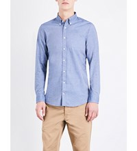 Tommy Hilfiger Slim Fit Cotton Shirt Dutch Navy