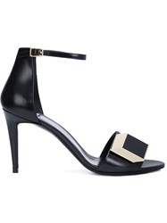 Pierre Hardy 'De D'or' Sandals Black