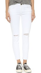Current Elliott The Stiletto Jeans Sugar With Released Hem