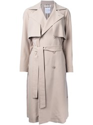 Cityshop Classic Trench Coat Brown