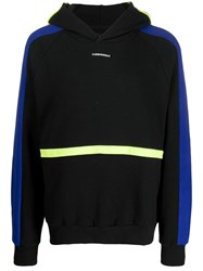D.Gnak Color Block Hoodie Black