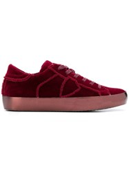 Philippe Model Low Top Sneakers Red