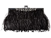 Jessica Mcclintock Gigi Clutch Black Clutch Handbags
