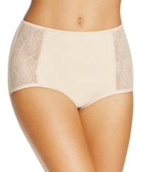 Jockey Side Lace Shaping Brief 4192 Light