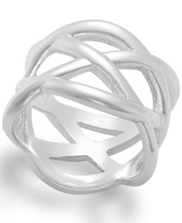 Giani Bernini Braided Ring In Sterling Silver
